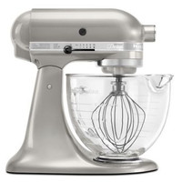 KITCHEN AID Tilt Head 5 qt Stand Mixer in Silver