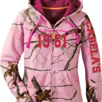 Cabela's Women's Varsity Full-Zip Hooded Print Sweatshirt : Cabela's