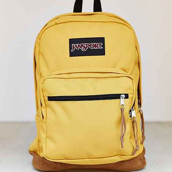 JanSport Right Backpack- Yellow One