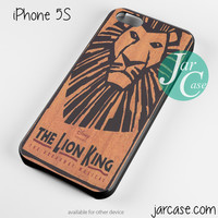 the lion king broadway musical Phone case for iPhone 4/4s/5/5c/5s/6/6 plus