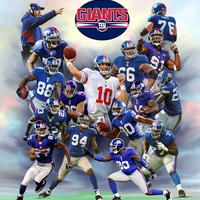New York Giants Art Prints