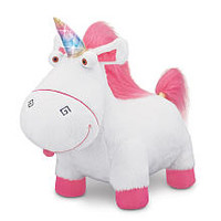Despicable Me 2 Electronic Plush - Agnes' Talking Unicorn