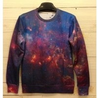 Deeper Space Psychedelic Unisex Galaxy Sweater from Moooh!!