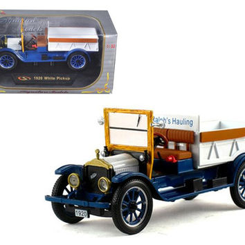 1920 Pickup Truck White 1-32 Diecast Model Car by Signature Models
