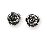 Rose Ear Posts | James Avery