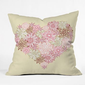 Sabine Reinhart Heart One Throw Pillow
