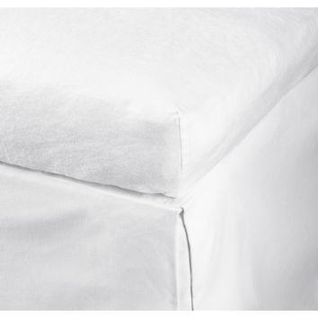 H&M - Fitted Linen Sheet - White