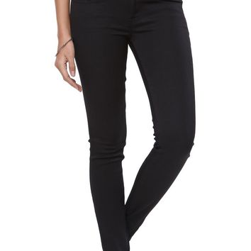 Bullhead Black Starry Black Low Rise Skinniest Jeans - Womens Jeans - Black -