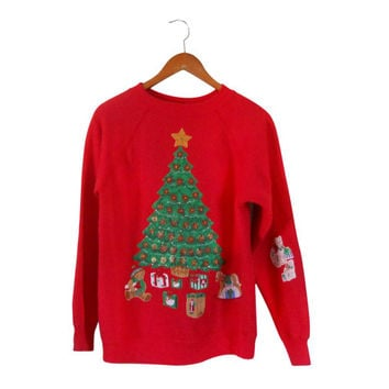 Ugly Christmas Sweater Cat Tacky Christmas Sweater Ugly Christmas Sweatshirt Holiday Sweater Tacky Ugly Christmas 90s Sweatshirt Hipster