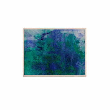 "Ebi Emporium ""Epoch 2"" Blue Teal KESS Naturals Canvas (Frame not Included)"