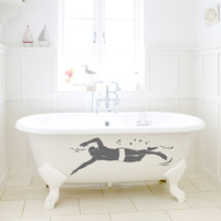 Male Swimmer Wall Decal