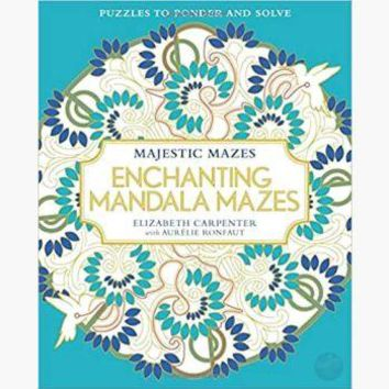 Enchanting Mandala Mazes Coloring Book