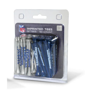 Dallas Cowboys NFL 50 imprinted tee pack