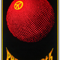 Peace on Earth - Black Light Poster