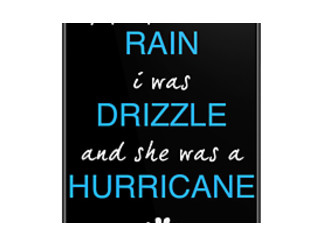 "Looking For Alaska by John Green ""If People Were Rain, I Was Drizzle A"