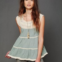 Free People Tiered Tank