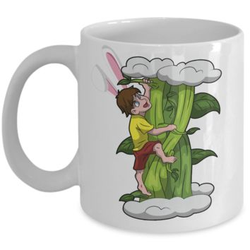 Fun Kid Easter Bunny Ears Grimm Story Mug Cup For Children White Bpa Free Chocolate Cookies Jar Coloring Marker Holder Drink Mugs For Cocoa Milk Juice Best Affordable Holiday Gift For Kids 2017 2018 Fun Easter Egg Jar For Children Boy Veggy Mug