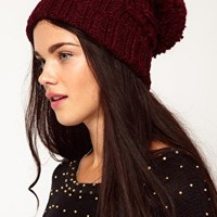 River Island Basketweave Hat at asos.com