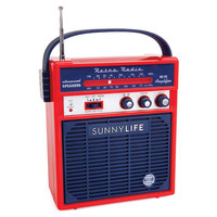 Sunnylife Retro Sounds Radio Red/Blue One Size For Women 25311837101