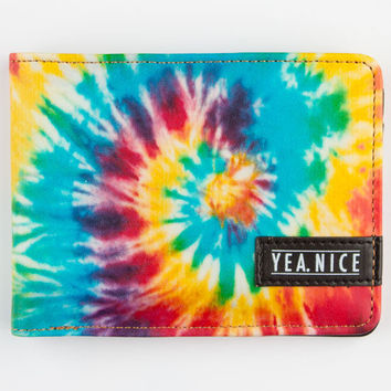 Yea.Nice Tie Dye Wallet Multi One Size For Men 23297695701