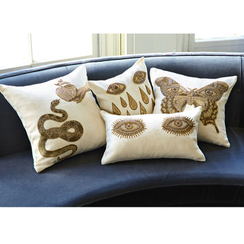 Jonathan Adler Muse Eyes Throw Pillow