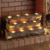Crofton Tealight Fireplace Log Trio        -                Fireplace Accessories        -                Decorative Accents        -                Home Accents                    - Touch Of Class