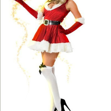 Women's Christmas Fancy Suit Costume Xmas Outfit = 4427579076