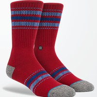 Stance Sullivan Crew Socks - Mens Socks - Red - One
