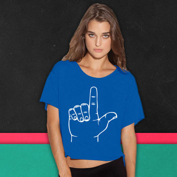Loser Hand boxy tee