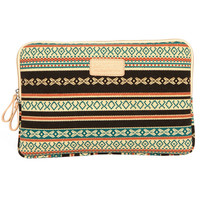 """8"""" 10"""" 11.6"""" 12.1"""" 13.3"""" 14"""" 15.6"""" Vintage Bohemian Style Leopard Laptop Cover Sleeves Shakeproof Case for MacBook DELL SONY HP SAMSUNG"""