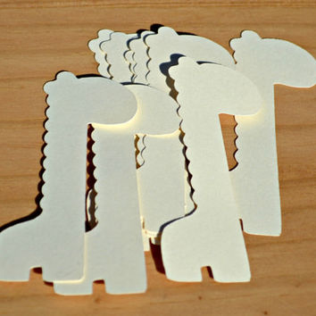 GIRAFFE paper cuts / Baby Tags /Birth Announcement / Baby Shower Thank You / Embellishments