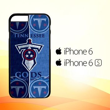 Tennessee Titans logo Z3008 iPhone 6|6S Case