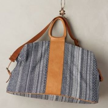Jasper & Jeera Tandy Weekender in Blue Size: All Bags