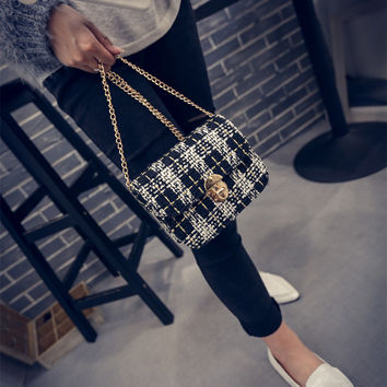 Shoulder Bags Stylish Winter Strong Character Lock [6582643655]