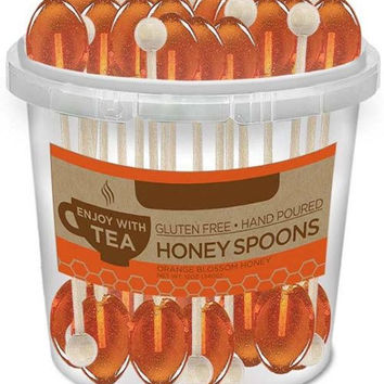 50 Orange Blossom Honey Flavored Teaspoons