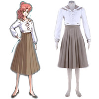 Pretty Guardian Sailor Moon Crystal Makoto Kino Sailor Jupiter Cosplay Juuban Municipal Junior High School Uniform XS-XXXL