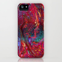 Marbled Galaxy iPhone Case by Amy Sia