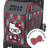 Zuca Sport - Hello Kitty Geek Chic Insert & Key Chain Wheeled Skate Bag