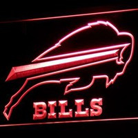 b034(a) Buffalo Bills Pub Bar LED Neon Sign with On/Off Switch 7 Colors 4 Sizes to choose