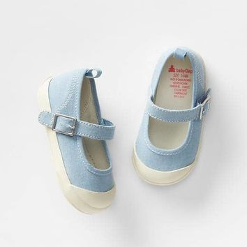 Denim mary jane sneakers | Gap