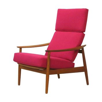 Pre-owned Danish Teak Lounge Chair Arne Vodder France & Son