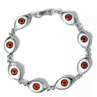 GYPSY WARRIOR - Evil Eye Bracelet - Brown