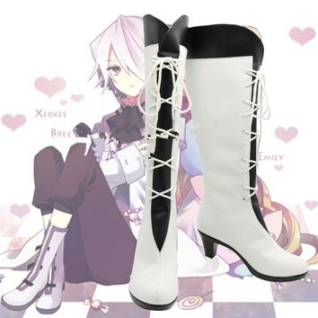 New Pandora Hearts Alice Boots cosplay Shoes