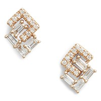 Dana Rebecca Sadie Interlock Diamonds Stud Earrings | Nordstrom