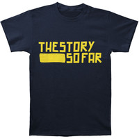 Story So Far Men's  Logo T-shirt Blue Rockabilia