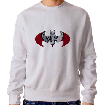 Alabama Crimson Tide Inspired Batman Grande Sweater / Unisex Sweater