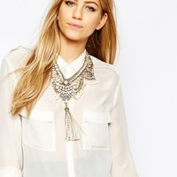 ALDO Germansen Statement Necklace at asos.com