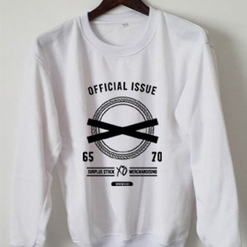 The Weeknd Sweatshirt Xo Ovoxo The Weeknd Official Issue Logo Black White Gray Maroon Unisex Sweaters Tee S,M,L,XL #1