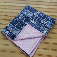 Star wars baby blanket girls