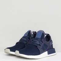 adidas Originals NMD Xr1 Sneakers In Dark Blue at asos.com